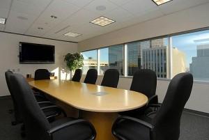 boardroom in downtown denver